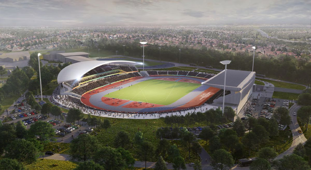A revamped Alexander Stadium will host the ceremony