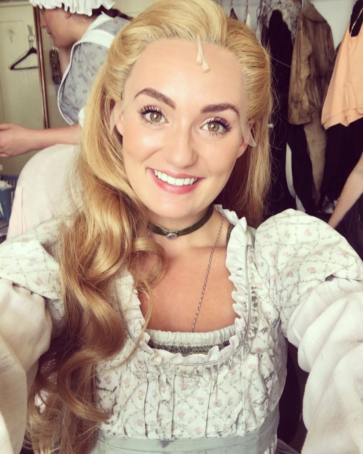 Aimee as Fantine in Les Miserables