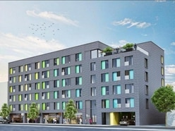 First look at new block of flats in West Bromwich