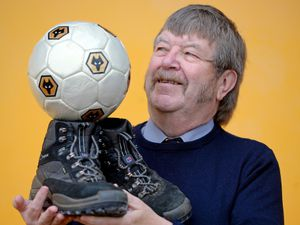 Wolves museum curator Pat Quirke
