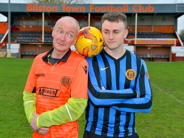 Politicians and press ready for charity match supporting Bilston Town