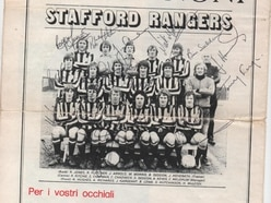 Tribute to hero of Stafford Rangers' greatest days