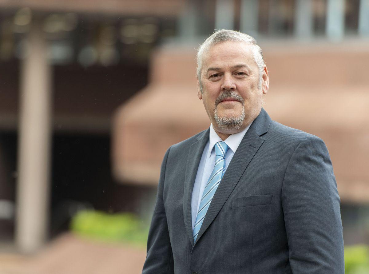 Wolverhampton Council leader Councillor Ian Brookfield