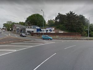 The roundabout at The Ringway and Comberton Hill. Photo: Google Maps