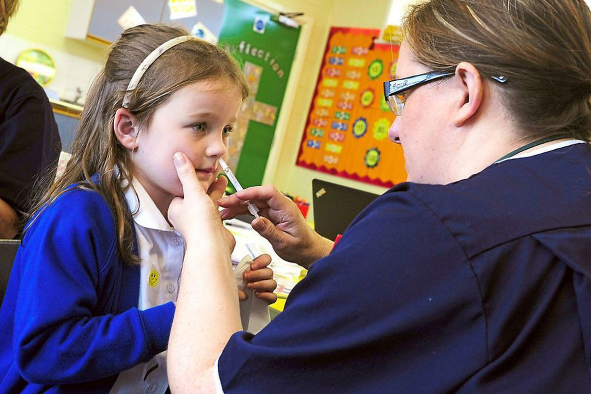 The vaccine is delivered via a safe, quick and painless nasal spray