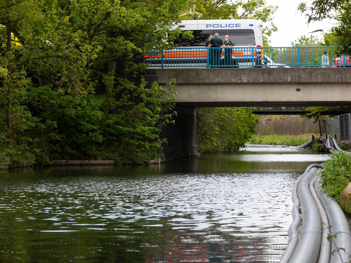 Baby found in Grand Union Canal