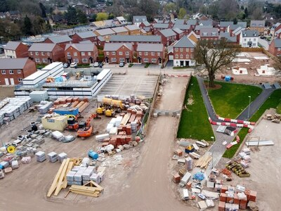 Latest images of housing development at former Staffordshire Police HQ