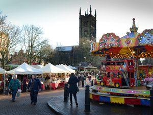 Victorian market in Wolverhampton attracted 15,000 visitors