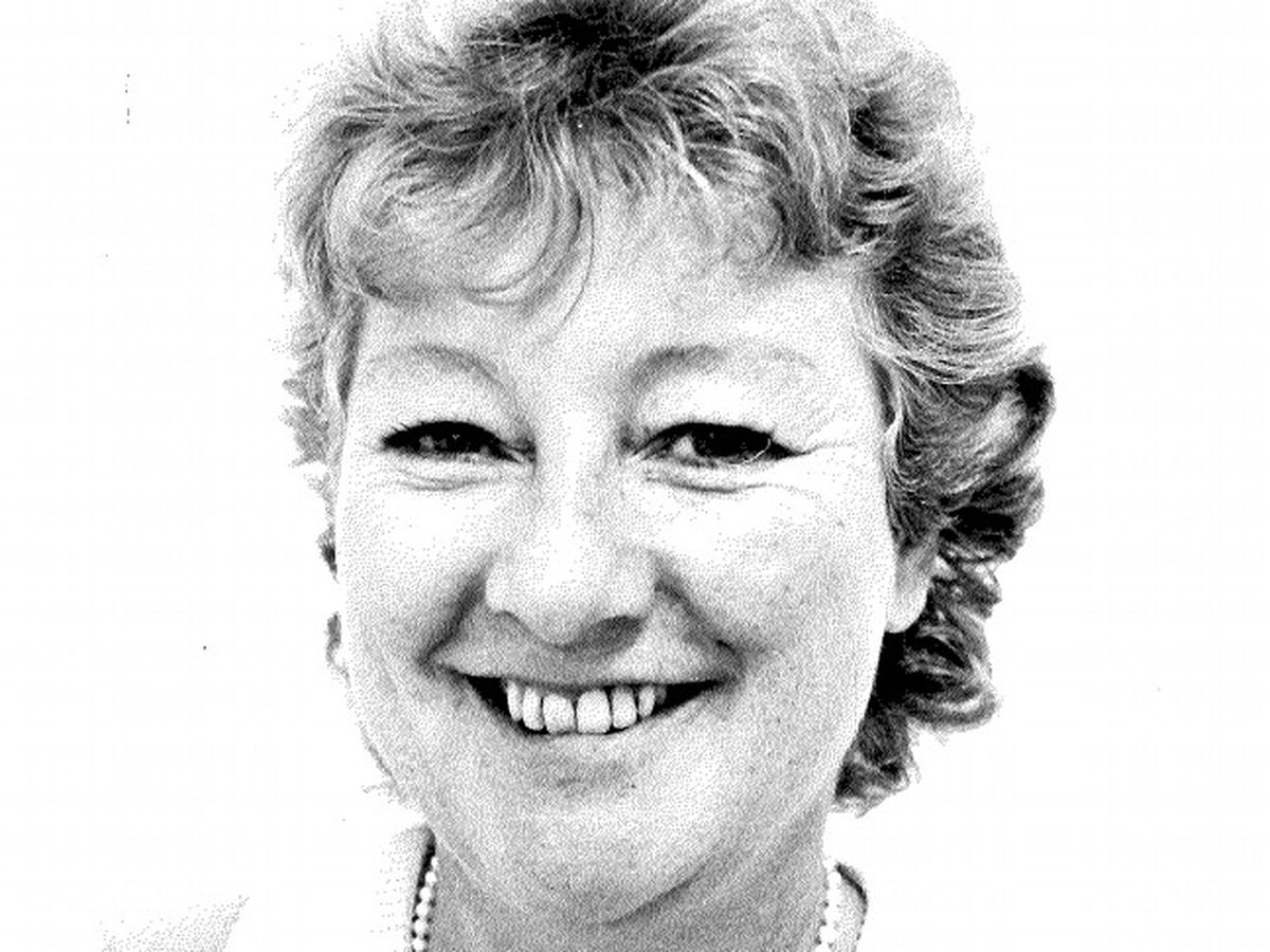 Susan when she worked on the Express & Star's Stafford patch, aged 46