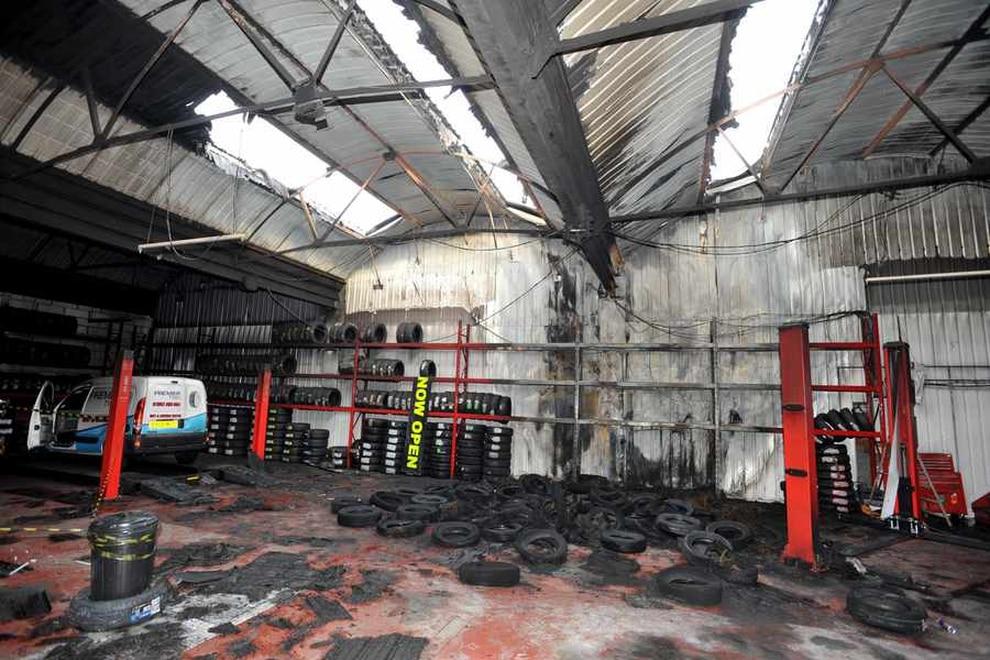 Wolverhampton garage gutted in blaze ahead of opening express star - Ford garage wolverhampton ...