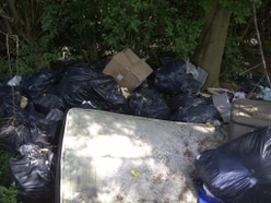 Fly-tipped spot to be fenced off