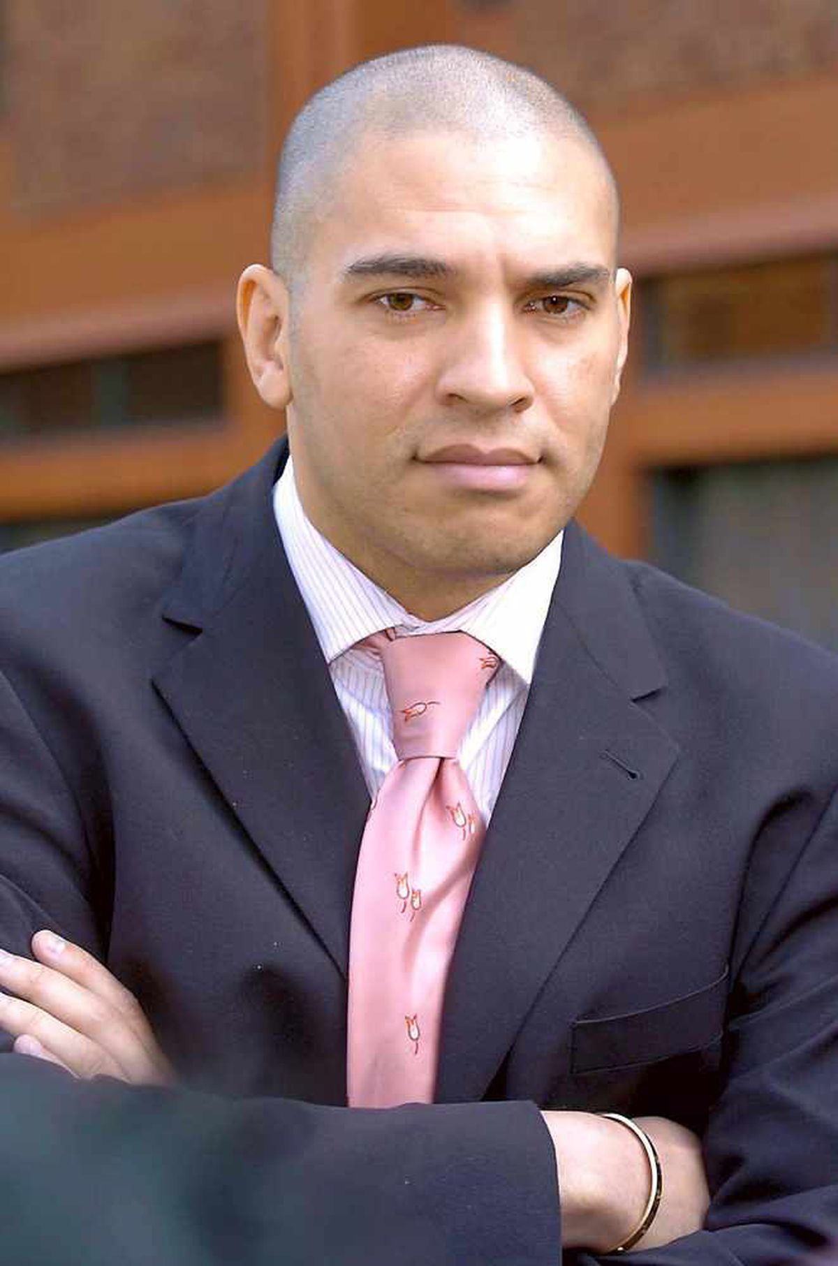 Ex-soccer star Stan Collymore
