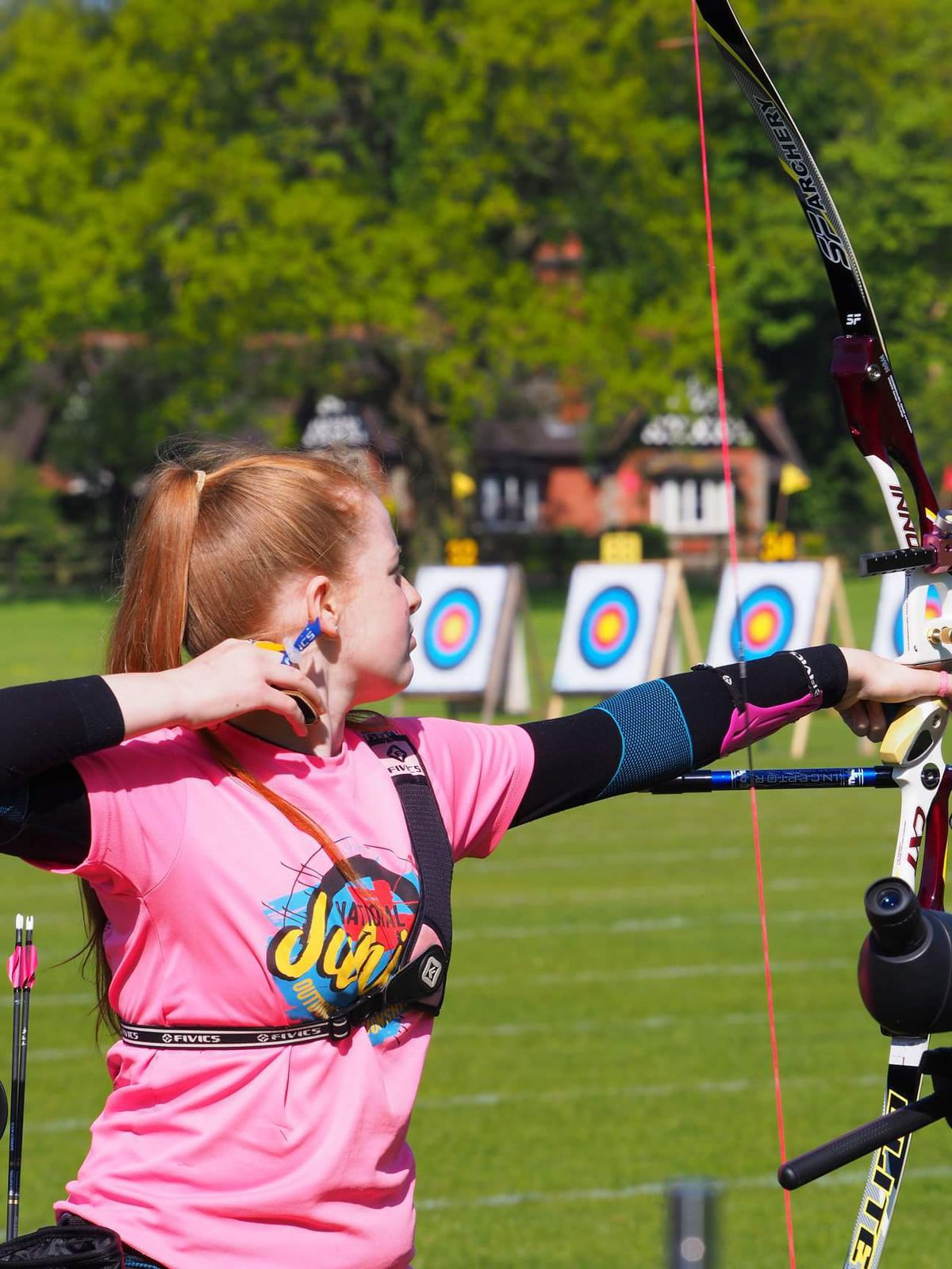 Stourbridge sisters Heike Palmer and Freya are making their mark in the world of archery