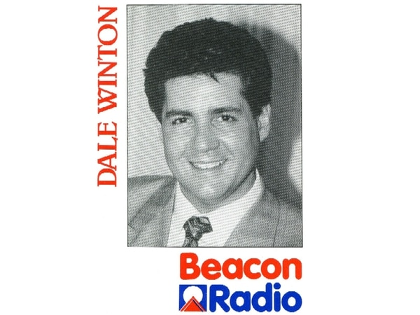 Diva Dale Winton was the housewives' choice at Beacon Radio