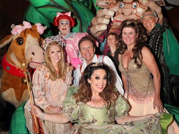 Gareth Gates, Lisa Riley, Doreen Tipton and more: Stars shimmy down beanstalk for Wolverhampton Grand's panto launch - with pictures