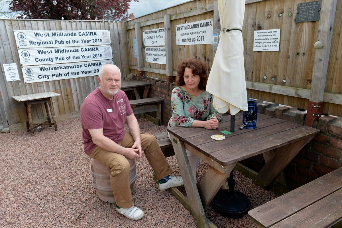Hail to the Ale has been able to run throughout the pandemic in different forms, with its outdoor area used on regular occasions