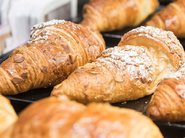 Undated handout photo issued by Pret A Manger of some of their Croissants