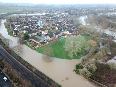 Hereford locals tell of 'crazy' floods after Storm Dennis
