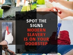 Reports of modern slavery up by nearly 50%, figures say