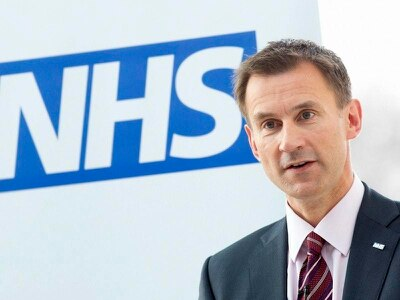 Tax rise to boost NHS funds has support of public, Hunt suggests