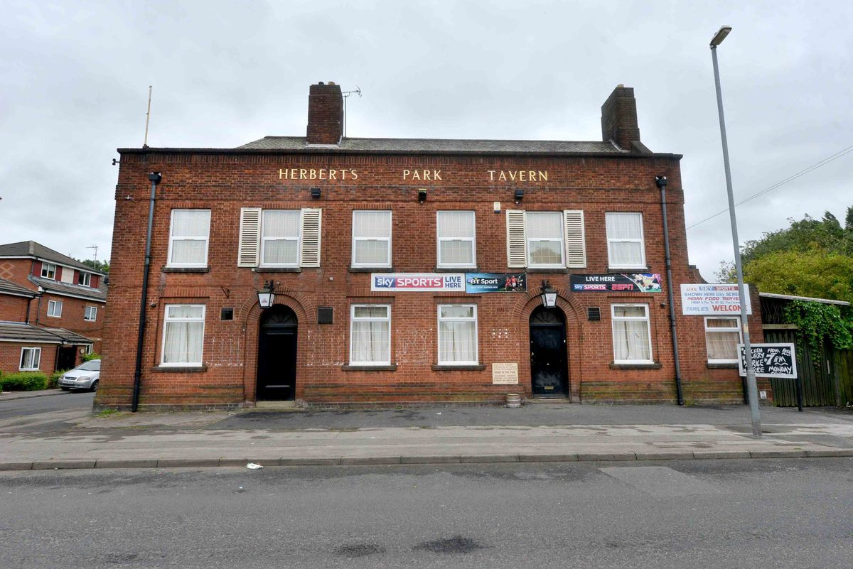 The attack happened outside Gabba's Bar, formerley Herbert's Park Tavern, on Forge Road