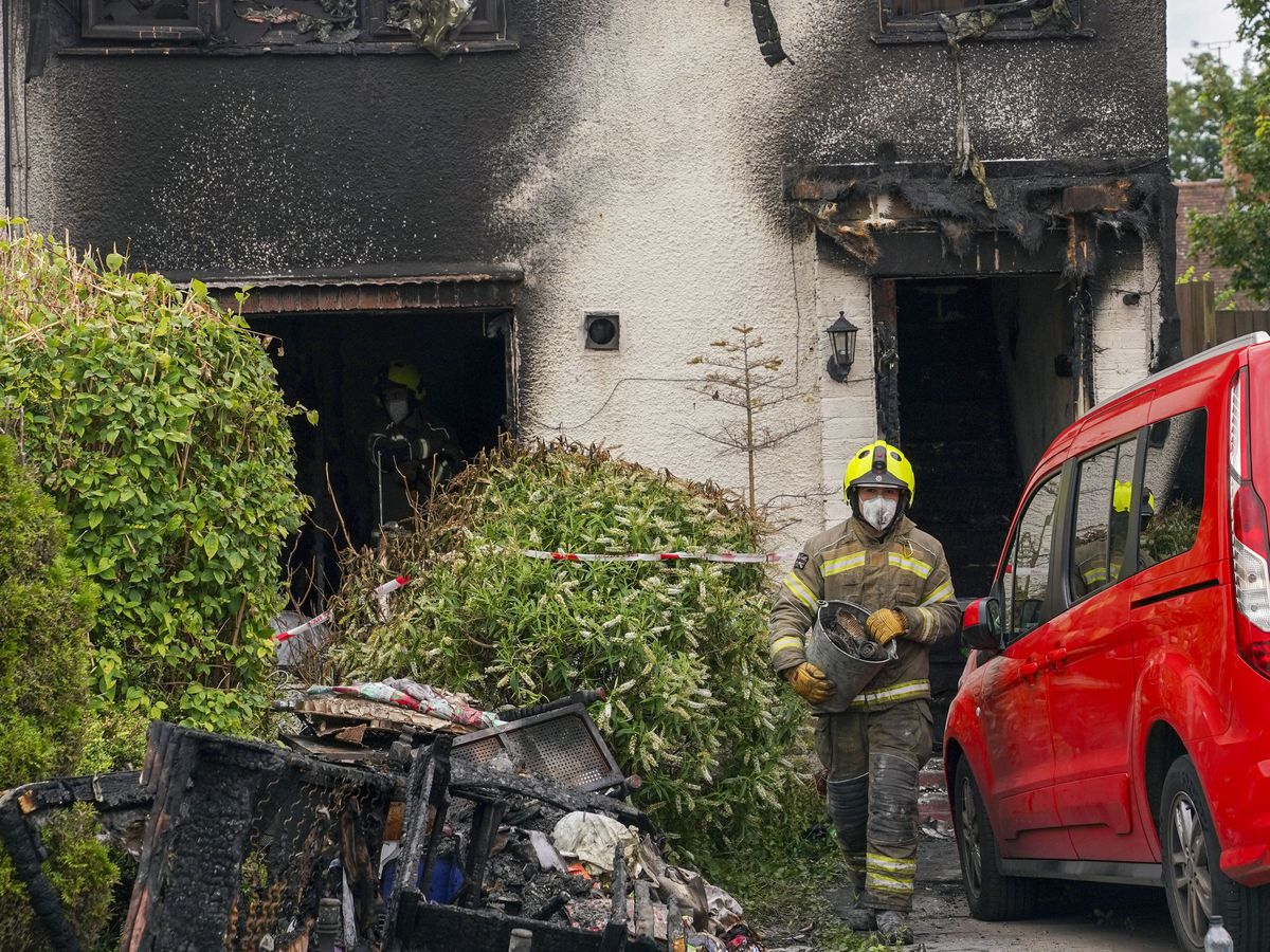 House fire in Smethwick