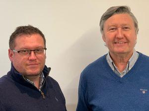 Martin and Brian Bagley, Director of Varico