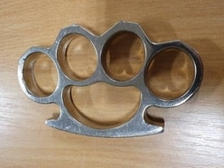 Police seize knuckle duster and gas cannisters in West Bromwich arrest