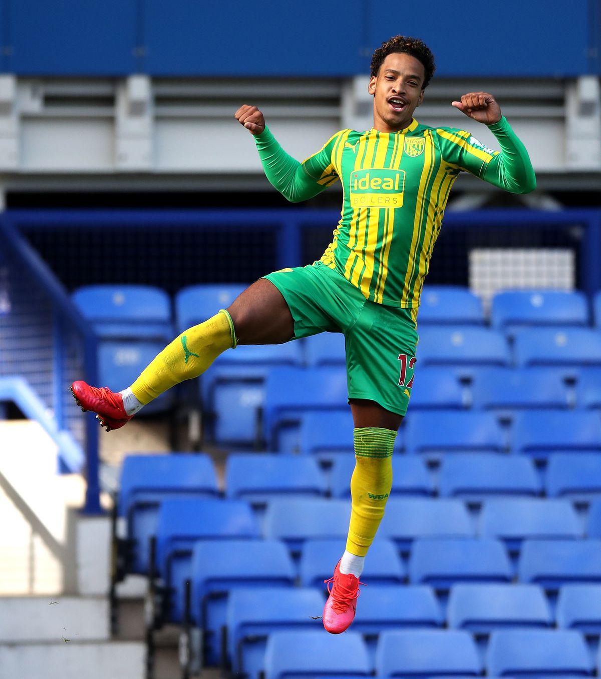 West Bromwich Albion's Matheus Pereira