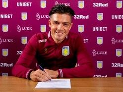 Jack Grealish signs new Aston Villa deal