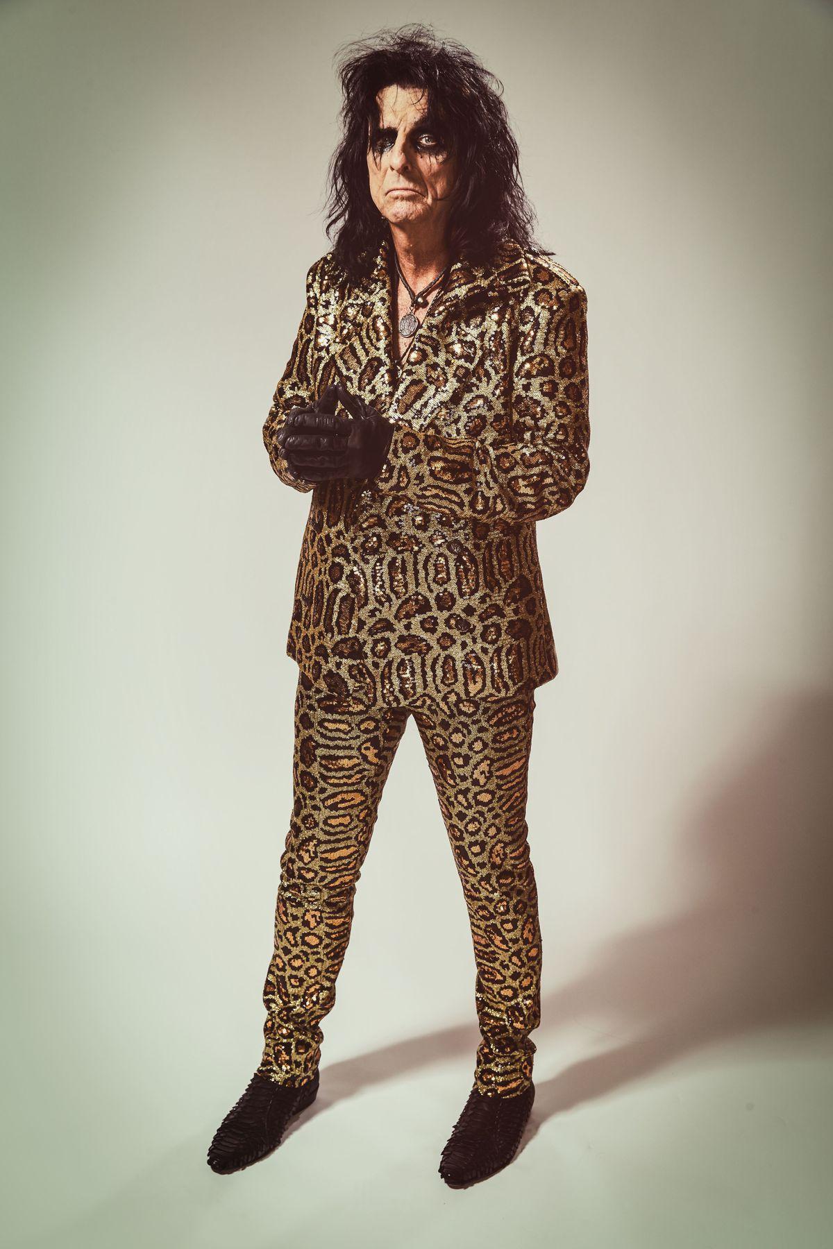 Alice Cooper. Pic: Rob Fenn