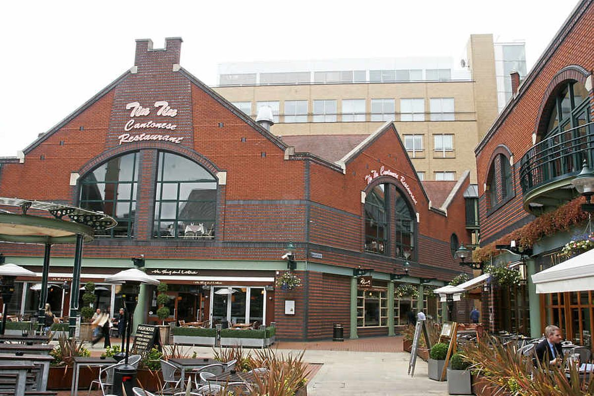 Tin Tin Cantonese Restaurant and All Bar One in Brindleyplace