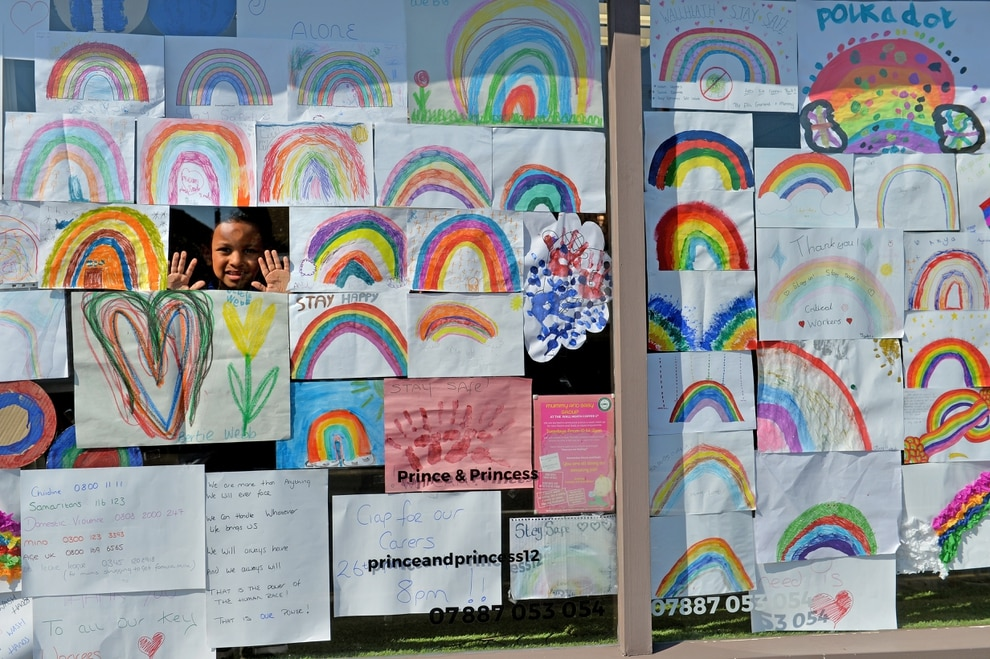 Gallery Rainbow Drawings Spread Cheer Across Black Country And Staffordshire Express Star