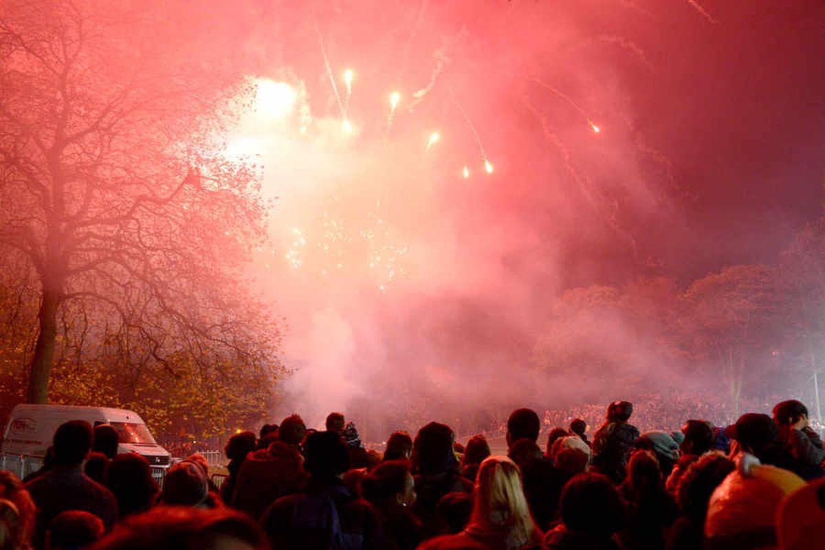 Probe over Brunswick Park fireworks injuries