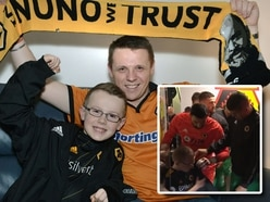 Wolves mascot delighted to keep Rui Patricio jacket as tunnel video goes viral