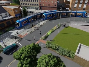Flood Street Metro fly-through video