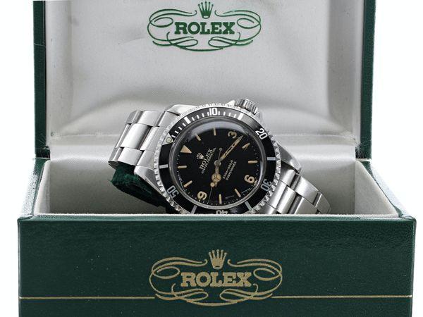 The rare Rolex Submariner 5512 watch