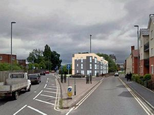 An artist impression of the proposed apartment block in Enville Street, Stourbridge. Photo: Accord Indesign