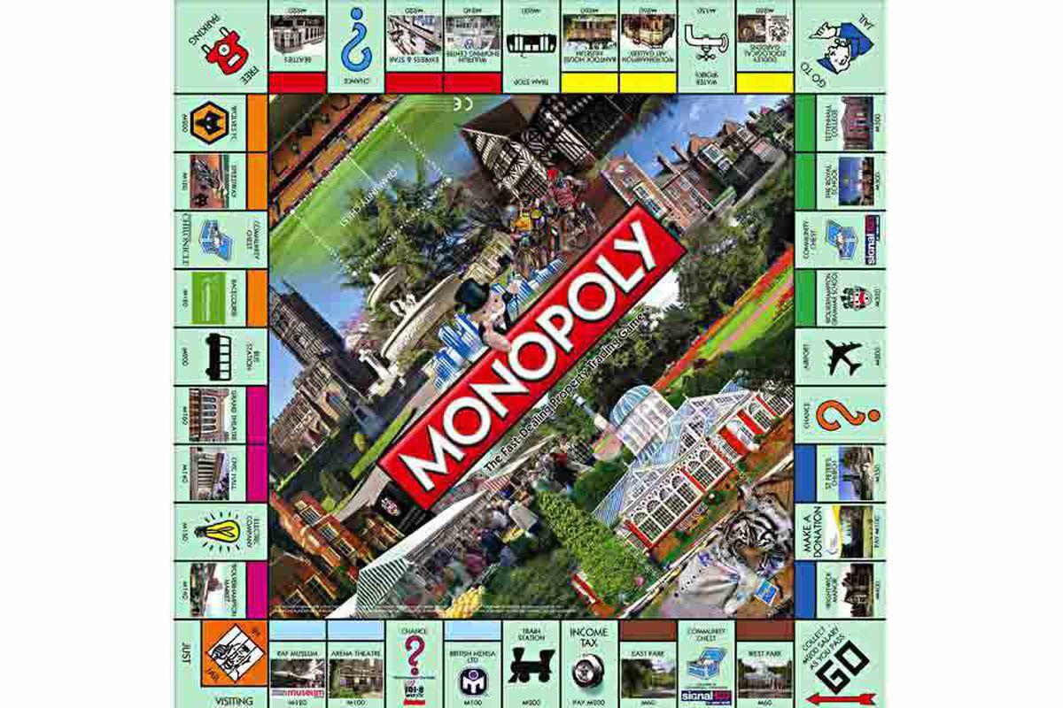 22 Wolverhampton hotspots make mark on eagerly-awaited Monopoly board