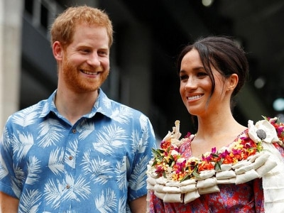 In pictures: Harry and Meghan enjoy a day of Fijian culture