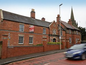 The former police station in Sedgley which is being sold at auction