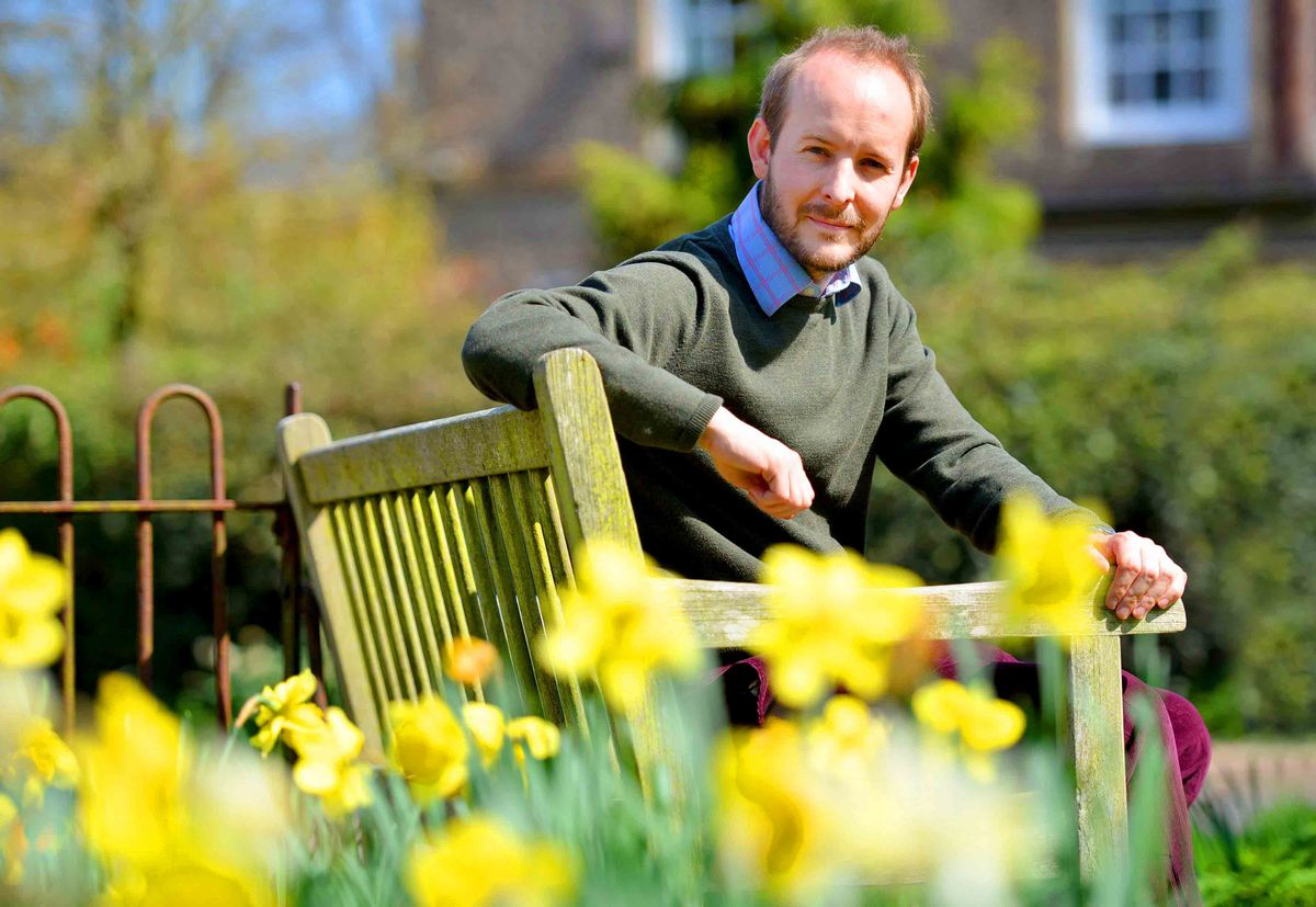 George Williams will be opening the gardens