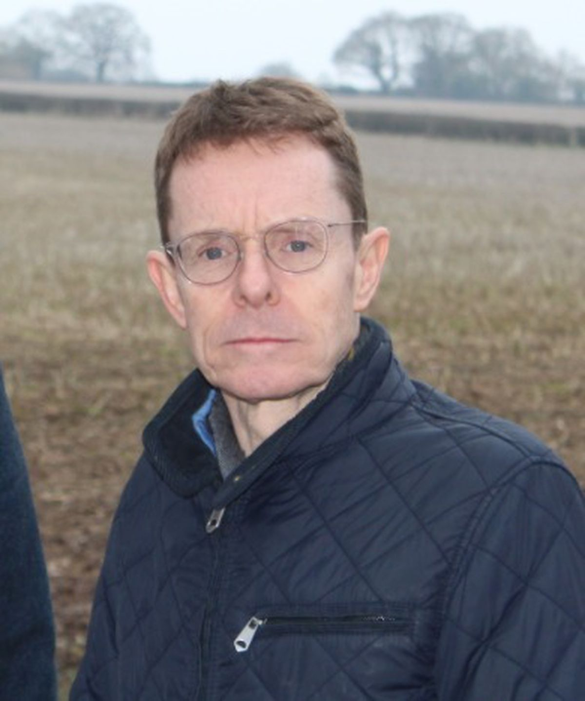 Headshot of West Midlands Mayor Andy Street.