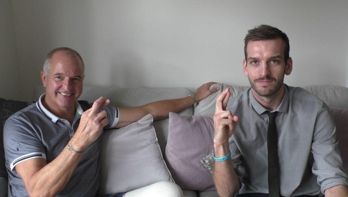 Steve Bull and Luke Hatfield