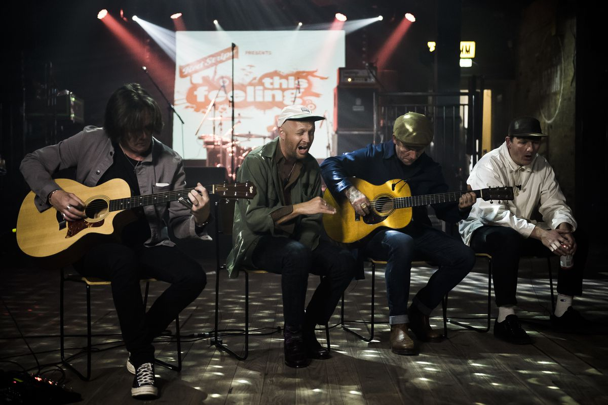 The Twang perform Dream on This Feeling TV with Red Stripe
