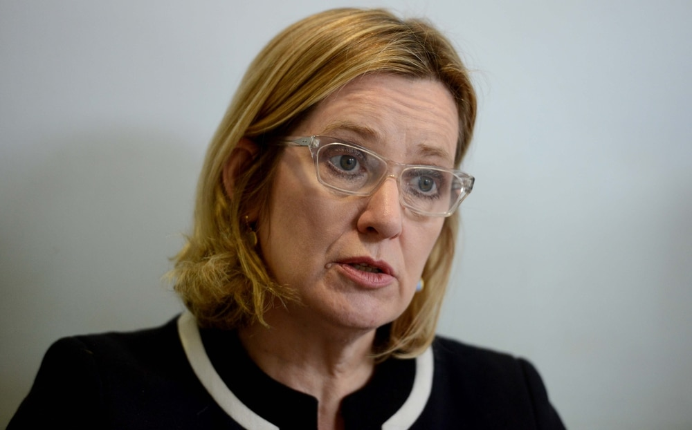 Amber Rudd We Will Get Tough On Knife Crime Express Amp Star