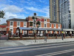 The former nightclub in Birmingham