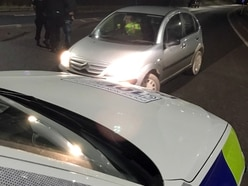 Arrest after police use stinger to stop car driving wrong way on M54