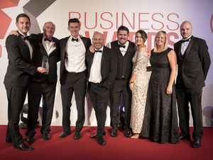Dudley Building Society receives its award
