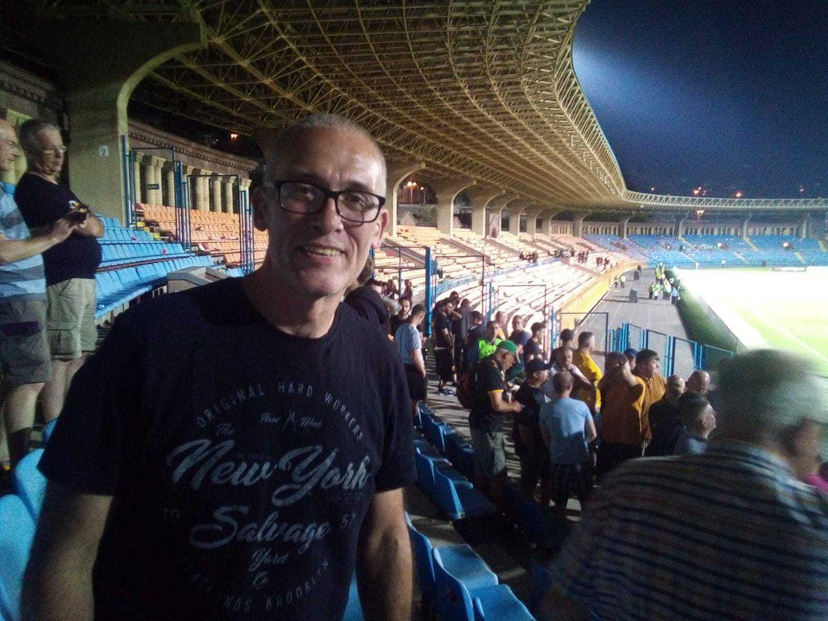 Steve Bishop made it to Yerevan – just